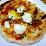 魚焼きグリルで焼くピザ・マルゲリータ