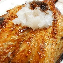 干物で簡単、赤魚の醤油焼き