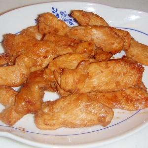 鶏むね肉で★やわらかジューシー生姜焼き