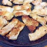 豚ロースブロックガーリック酢醤油焼き