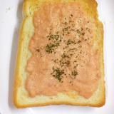 朝の鱈マヨトースト