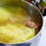 牛すね肉とキャベツの煮込み*ポトフ