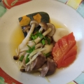 糖質オフ♪砂肝の簡単あったか生姜煮