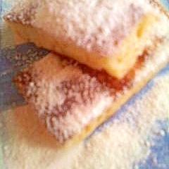 白ココアでホワイトチョコ風味のホットケーキ