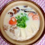お鍋シリーズ #1 簡単ヘルシー豆乳鍋