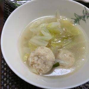 鍋の残り野菜で体温まる生姜スープ