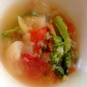 カラフルコンソメスープ