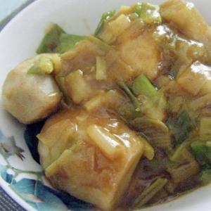 里芋のカレー風煮物