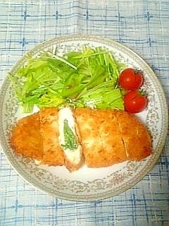 ☆しそチーズササミフライ☆