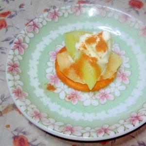 桃とメロンの贅沢リッツ♪