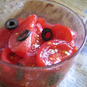 トマトとレモンのサラダ ~我が家のレシピ~