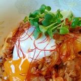ピリ辛キムチ牛丼