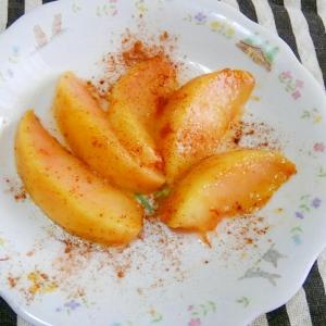 旬☆桃のバターソテー