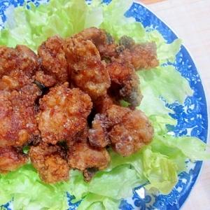 ガーリック塩麹漬け鶏のから揚げ