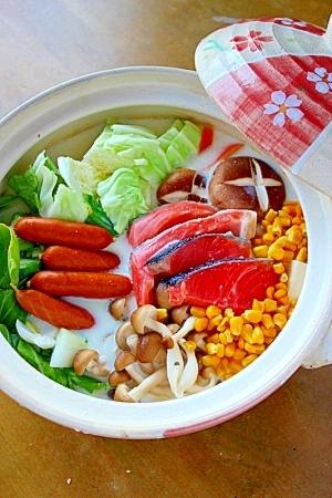 塩麹豆乳鍋