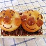 アンパンマンのお顔パン