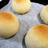薄力粉で時短パン