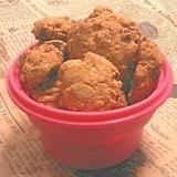 甘さ控えめ☆フルーツ入りロッククッキー