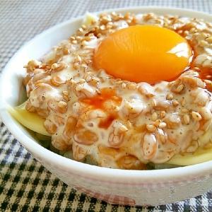 マヨチー納豆ご飯