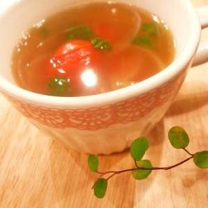 ミニトマトのスープ