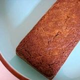 ヘルシーおからショコラパウンドケーキ♪