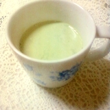 ☆*・練乳スキムミルク入り緑の野菜ジュース☆*:・