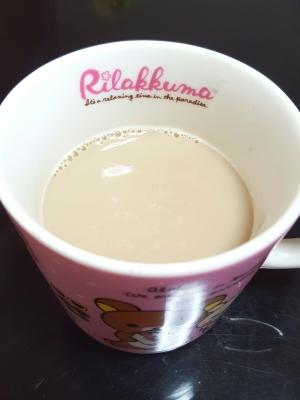 麦茶パックで♪ミルクティー☆☆
