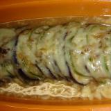 茄子ときゅうりの重ね甘味噌チーズ