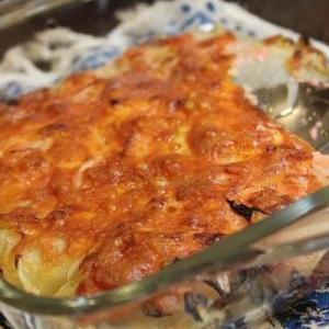 明太ポテトのチーズ焼き