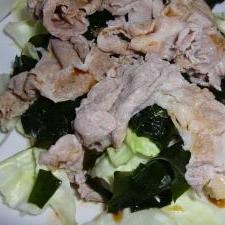 茹で豚のヘルシーサラダ