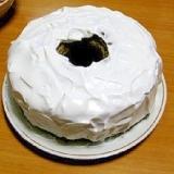 蕎麦粉シフォンケーキ