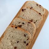 HB!レーズンと黒ごまときな粉の食パン