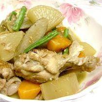 簡単あと一品☆鶏肉のダシが◎♪鶏ごぼうのウマウマ煮