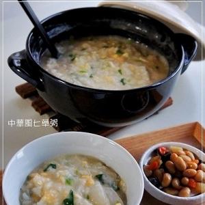中華風七草粥