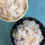 サバ缶で♪甘酢生姜と干しエビ入り混ぜご飯