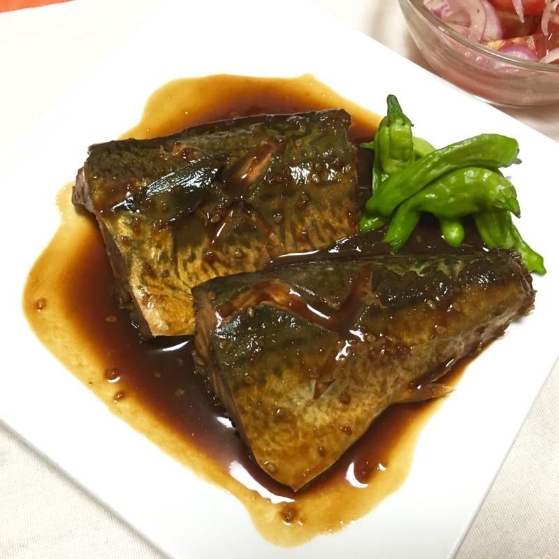 味付け超簡単♪鯖のつけてみそかけて味噌煮♡
