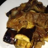 簡単美味しい☆味付き肉と茄子の炒め物