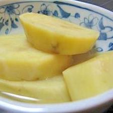レモンの香りがすごく効いてる!さつま芋のレモン煮