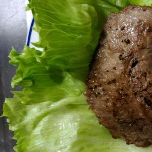 絶品マグロほほ肉のステーキ