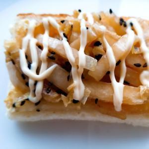 白菜マヨ炒めゴマトースト