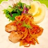玉葱たっぷり☆豚の生姜焼き