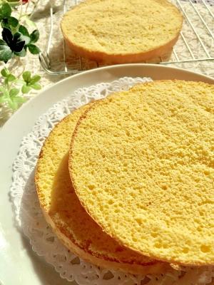 しっとり♡米粉スポンジケーキ