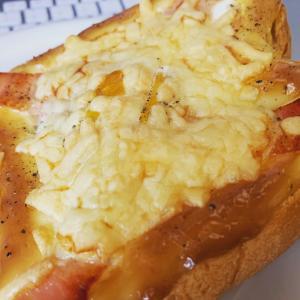 ふわふわチーズトースト