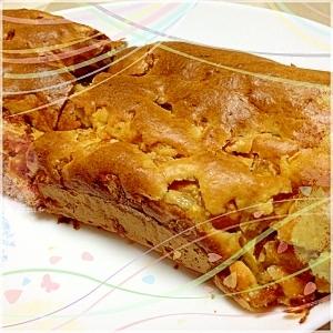 柿のパウンドケーキ(甘さ控えめ)