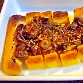 ネギ味噌とうす揚げ(油揚げ)焼き