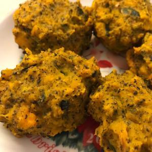 かぼちゃと黒ゴマのクリーミーお菓子コロッケ