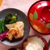 「甘鯛の味噌漬け」