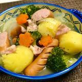 栄養満点❤️大きめ野菜の具沢山ポトフ