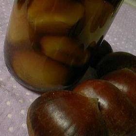 キビ砂糖で♪優しいお味の栗の甘露煮