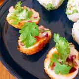 タイ風!華やか♪あげ卵の前菜